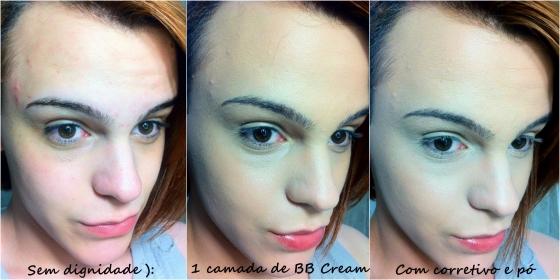 aplicação bb cream