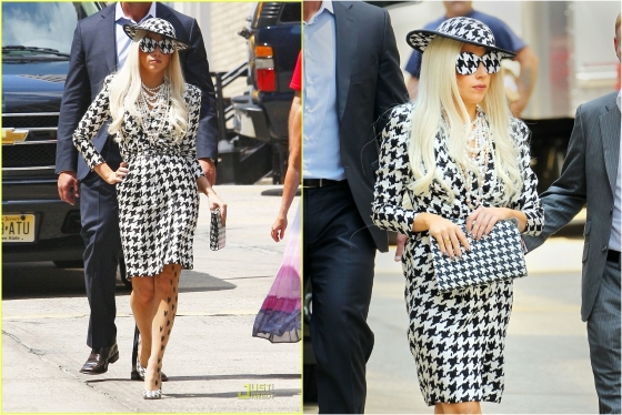 "Lady Gaga Leaves the Set of ""The View"""