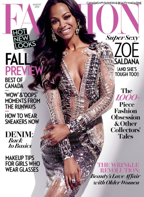 Zoe-Saldana-Fashion-August-2014-Magazine-Julien-MacDonald-Dress-Tom-Lorenzo-Site-TLO-1